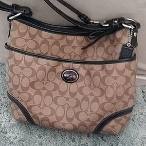 Coach Signature Peyton Convertible Shoulder Bag